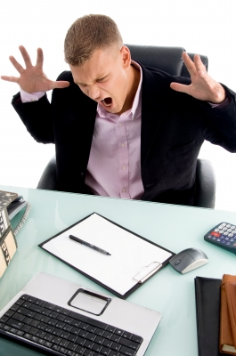 Frustrated businessman from freedigitalphotos.net
