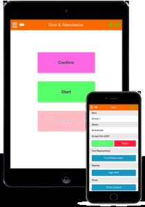 mysirenum mobile staff management app