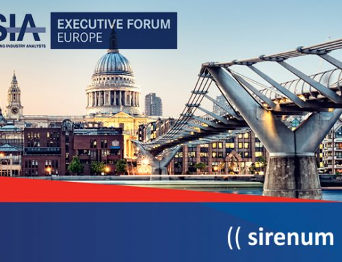 Sirenum to sponsor SIA's Executive Forum Europe